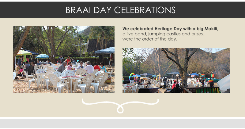 Braai Day celebrations